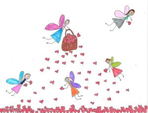 fairies spreading love
