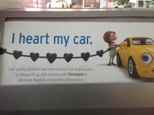 Chevron hearts