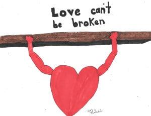 love can never be broken