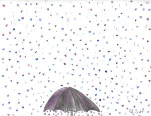 Love flows more than all the rain