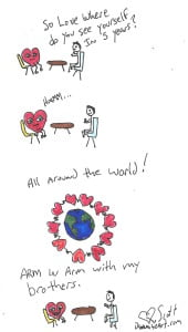 Love for the whole planet