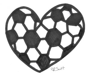 I do love soccer
