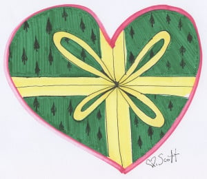 Love is a gift and this is the season for giving.