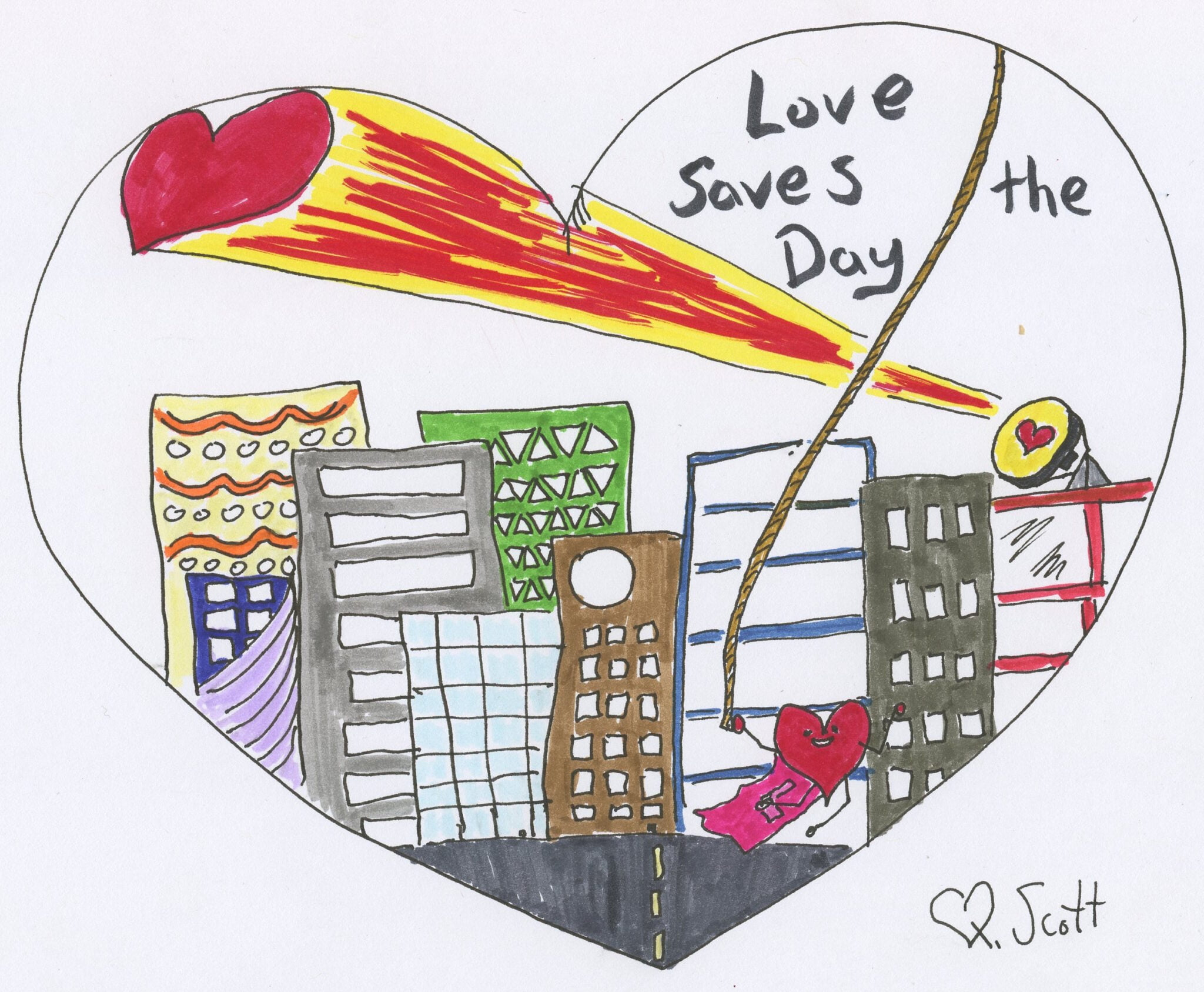 Loves saves the day once again.