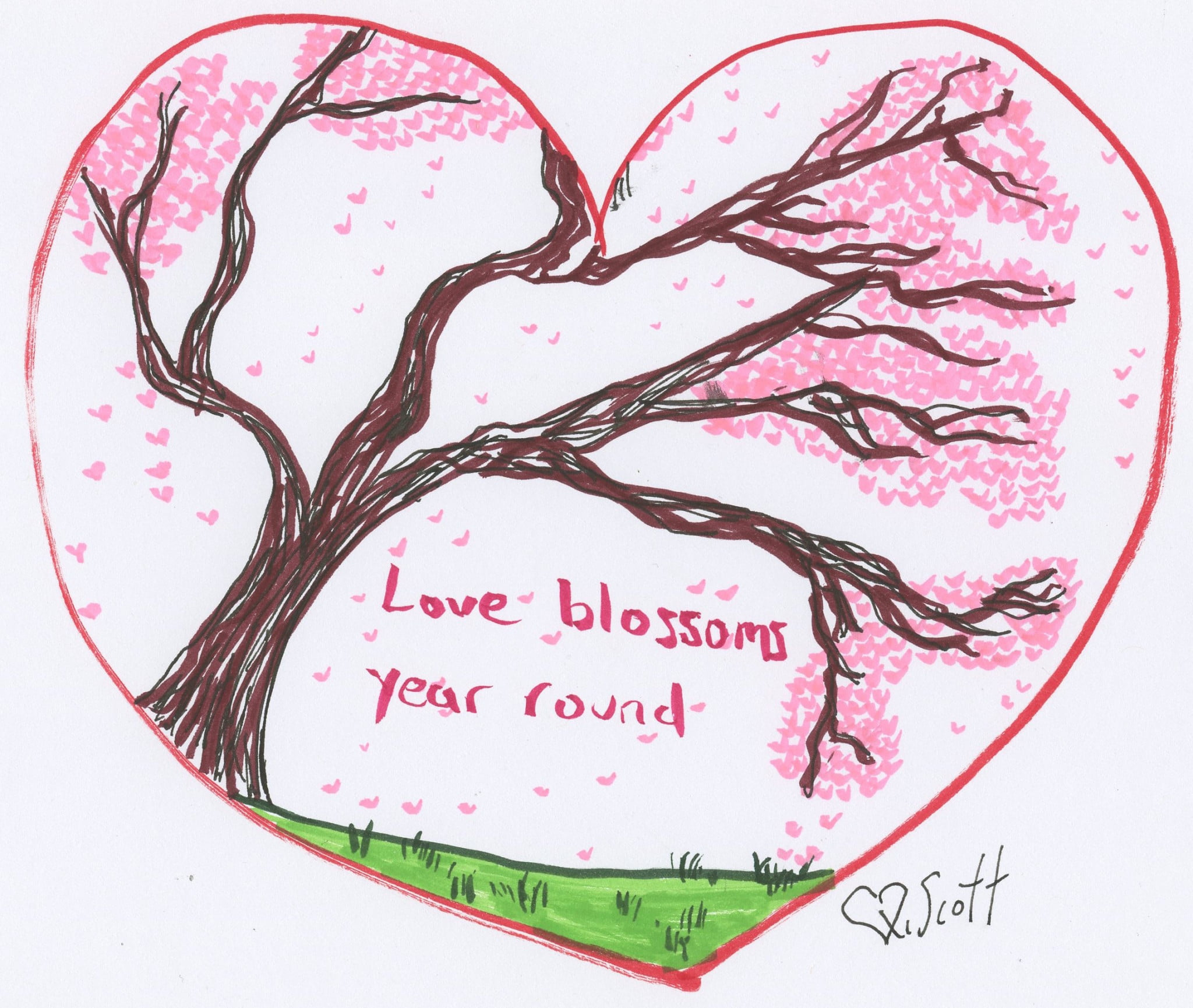 Love blossoms year round