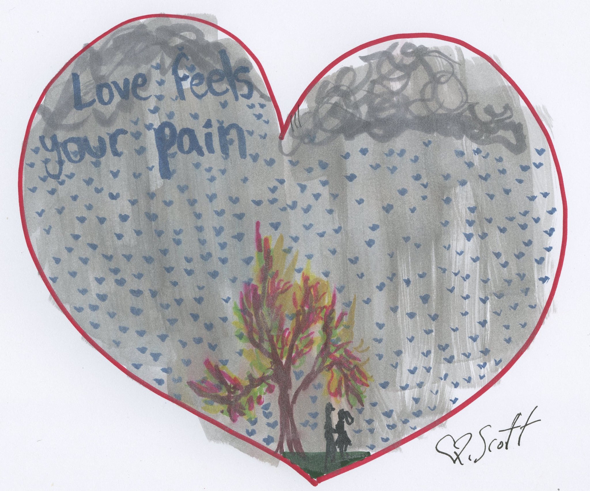 love feels your pain