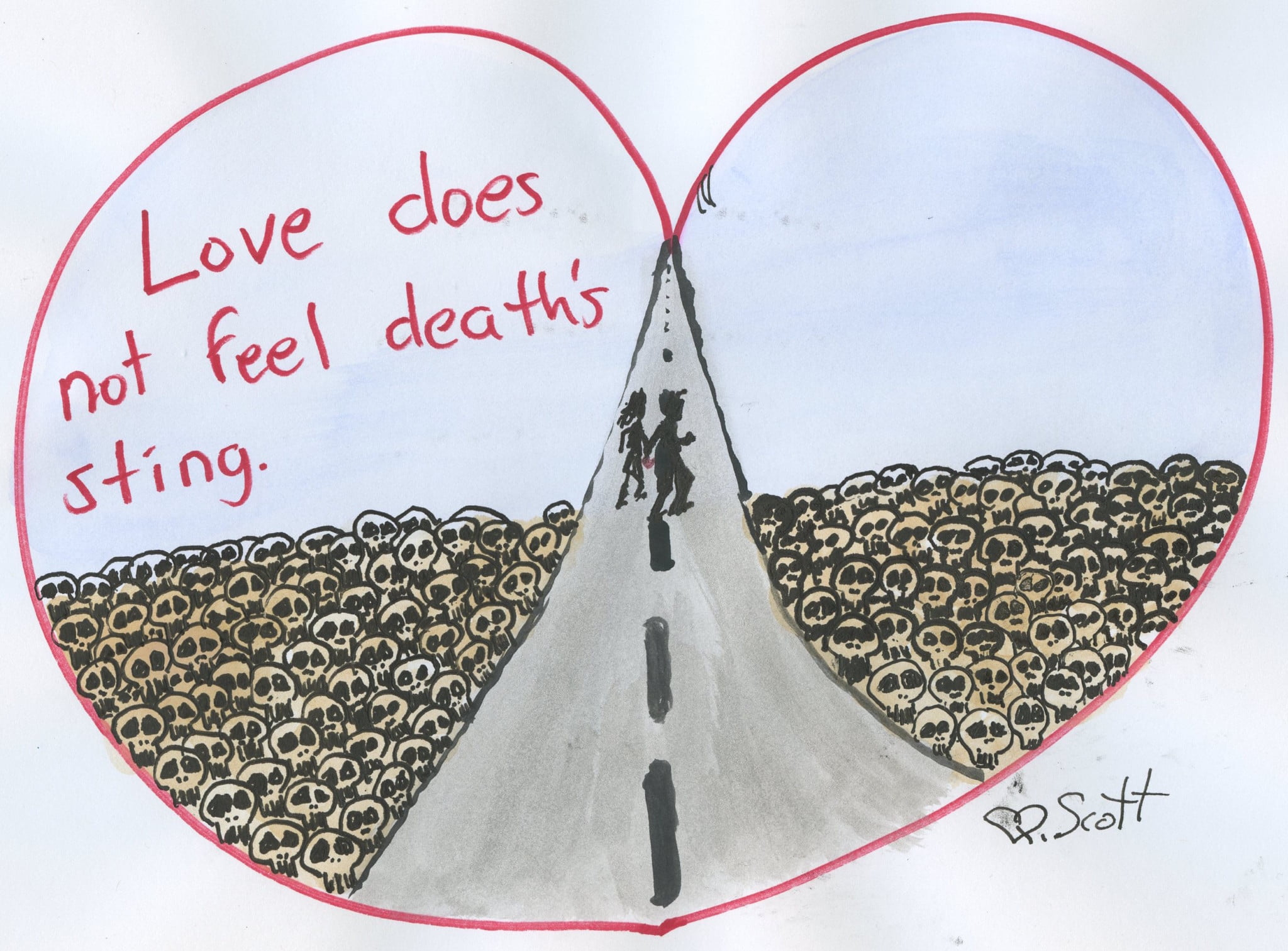 Love does not feel Death's sting