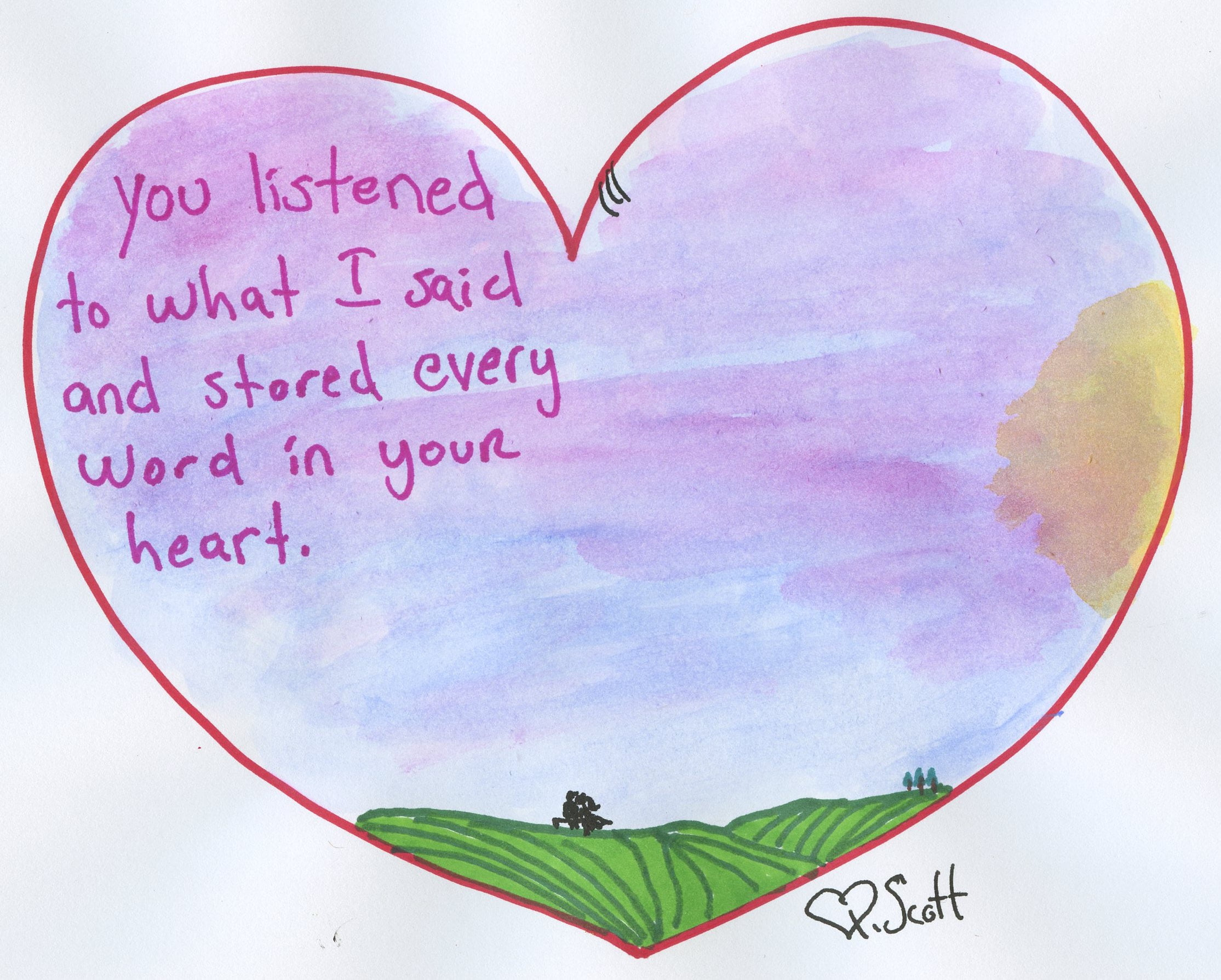 love, heart, romance