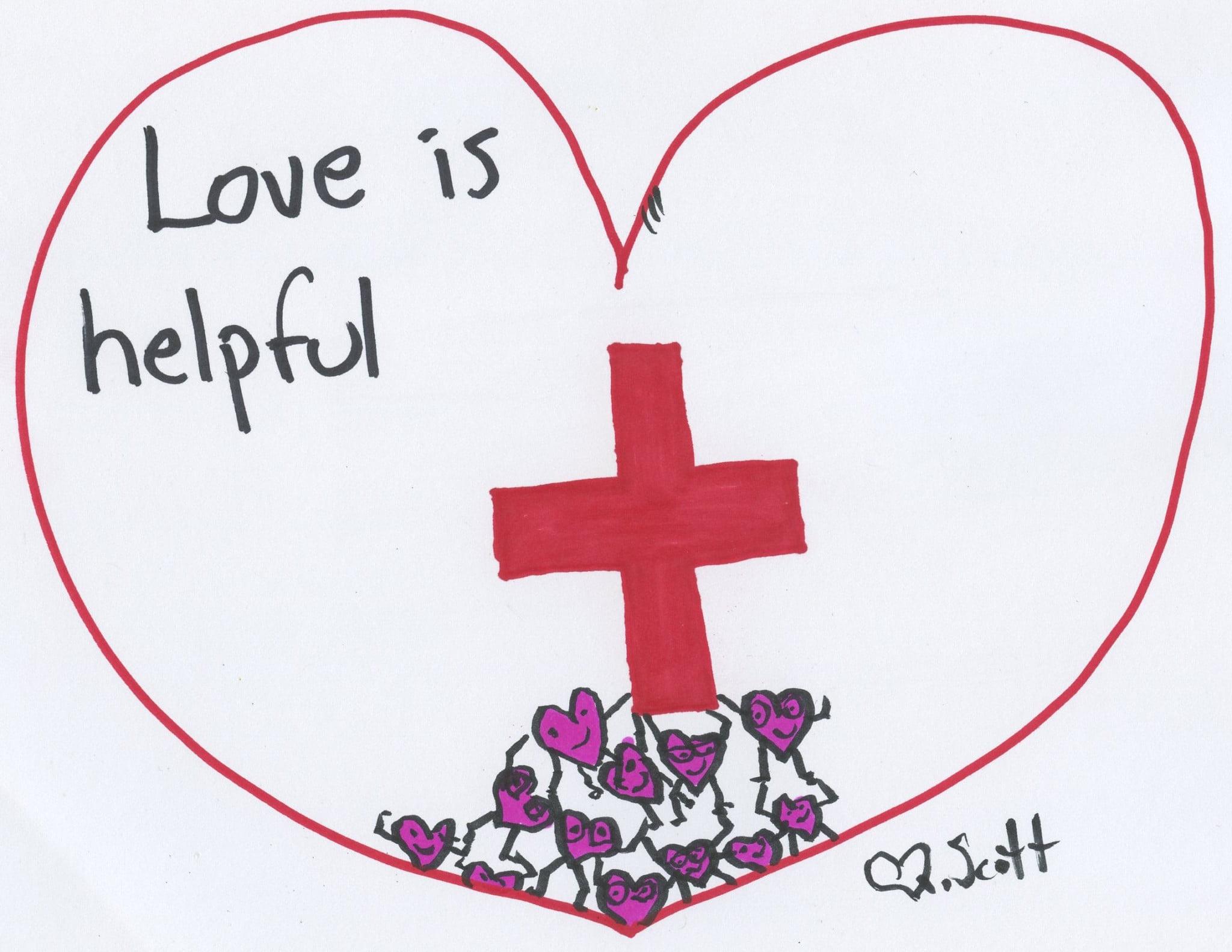 Love is helpful