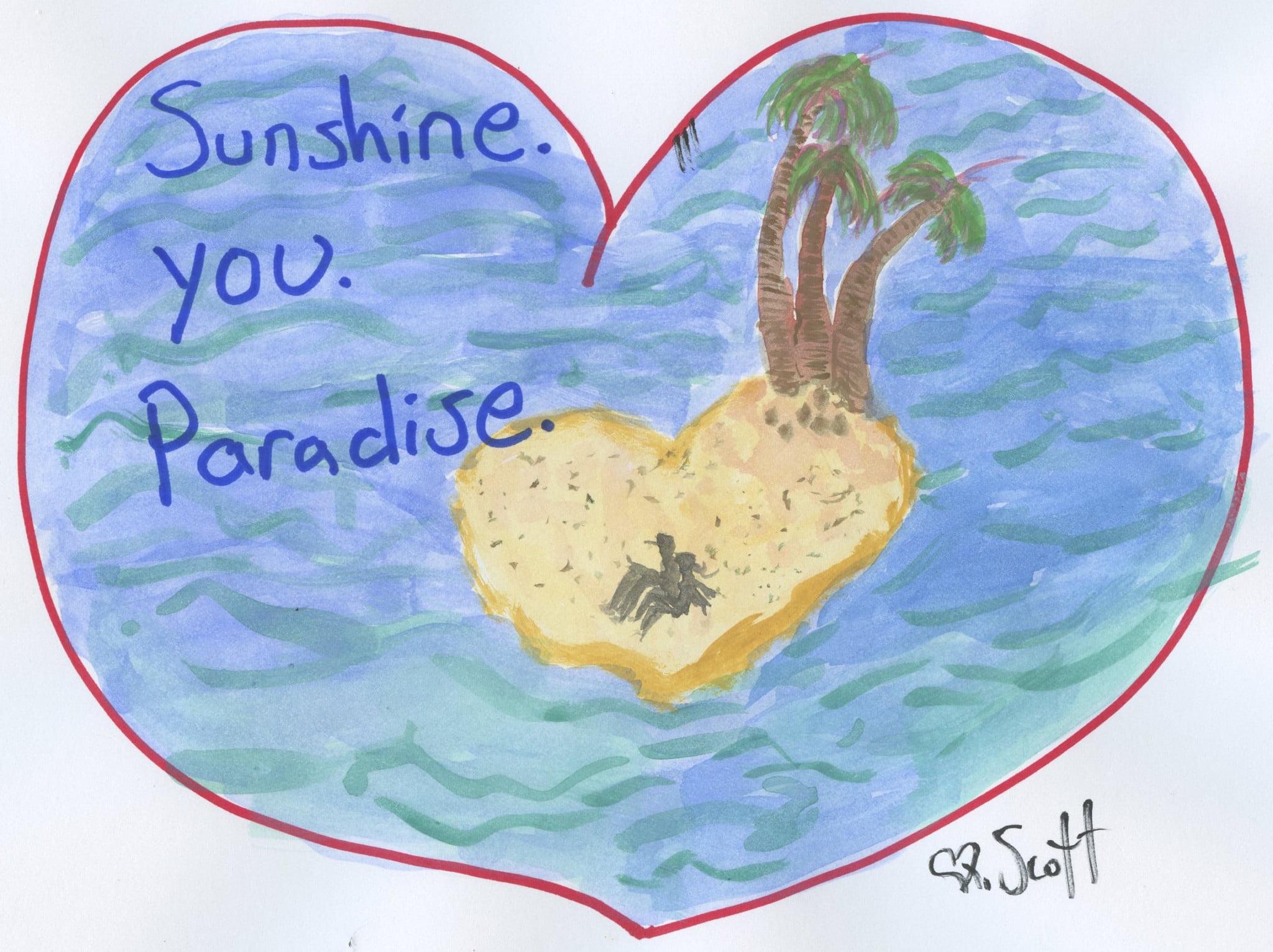 love, paradise