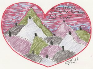 love heart horizon