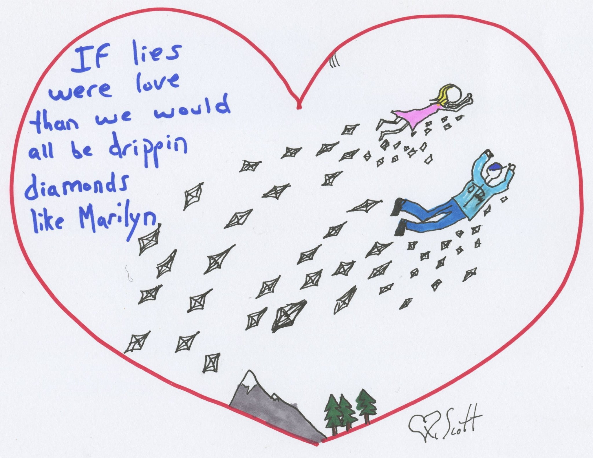rich plus love
