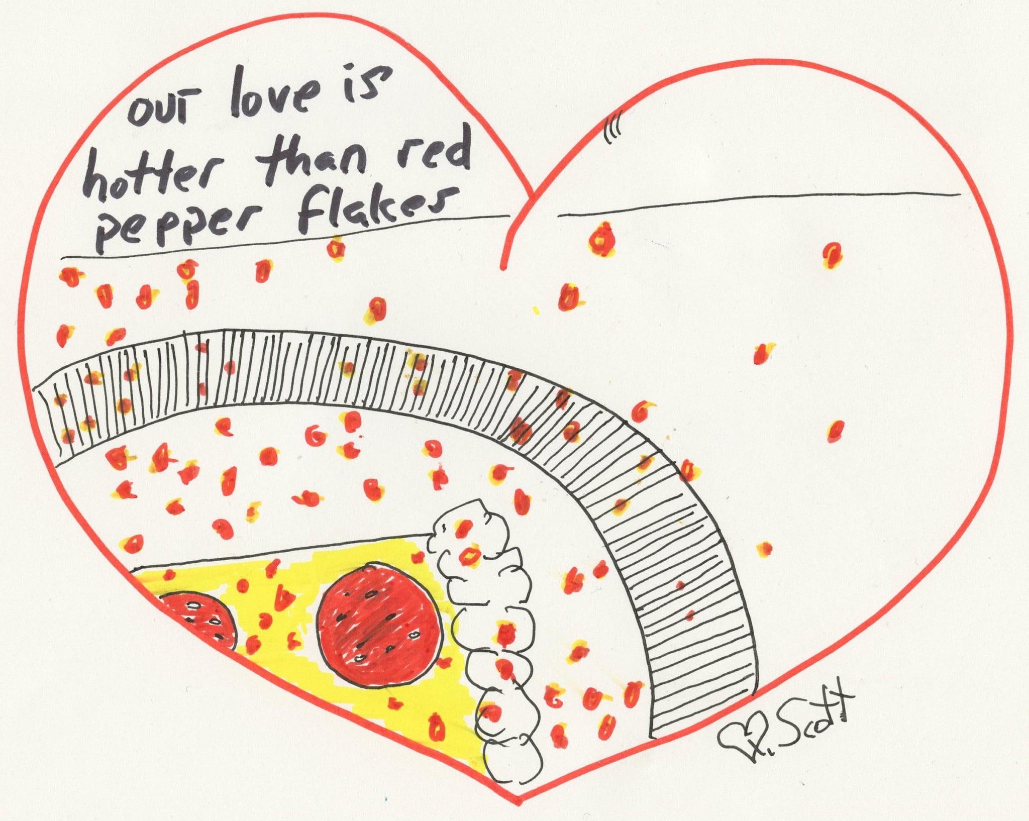 draw, love, heart