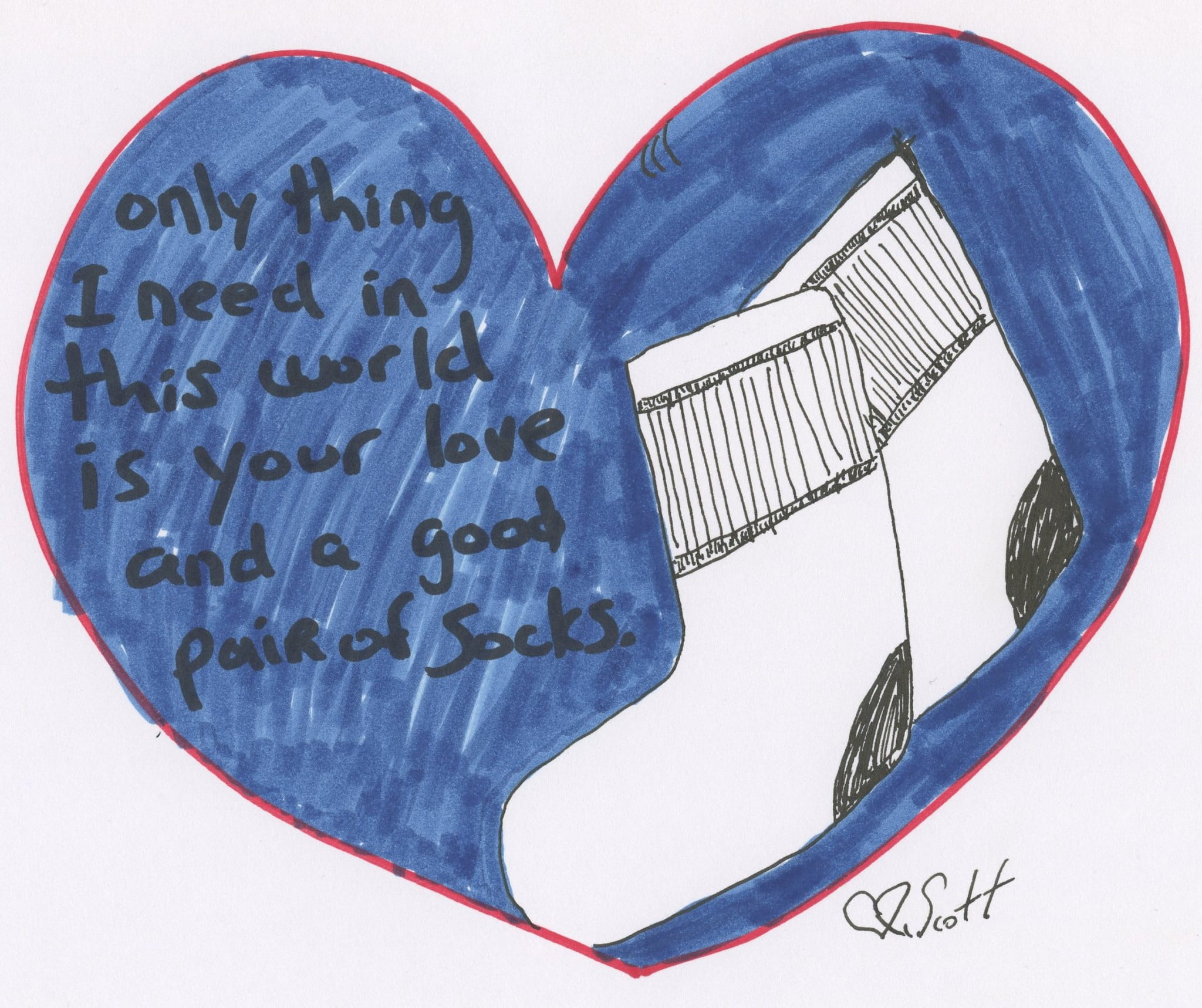 love and socks