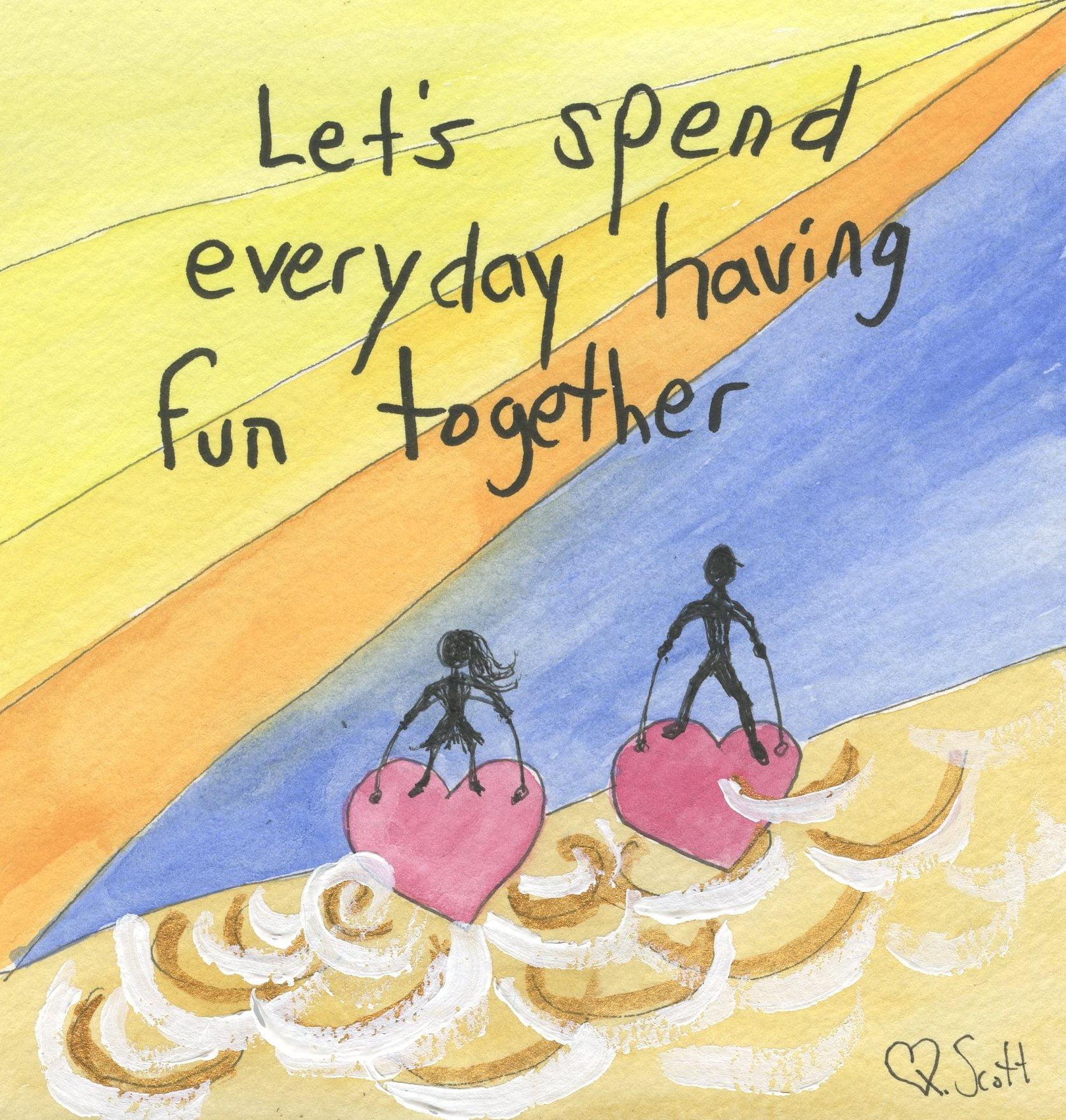 fun, love