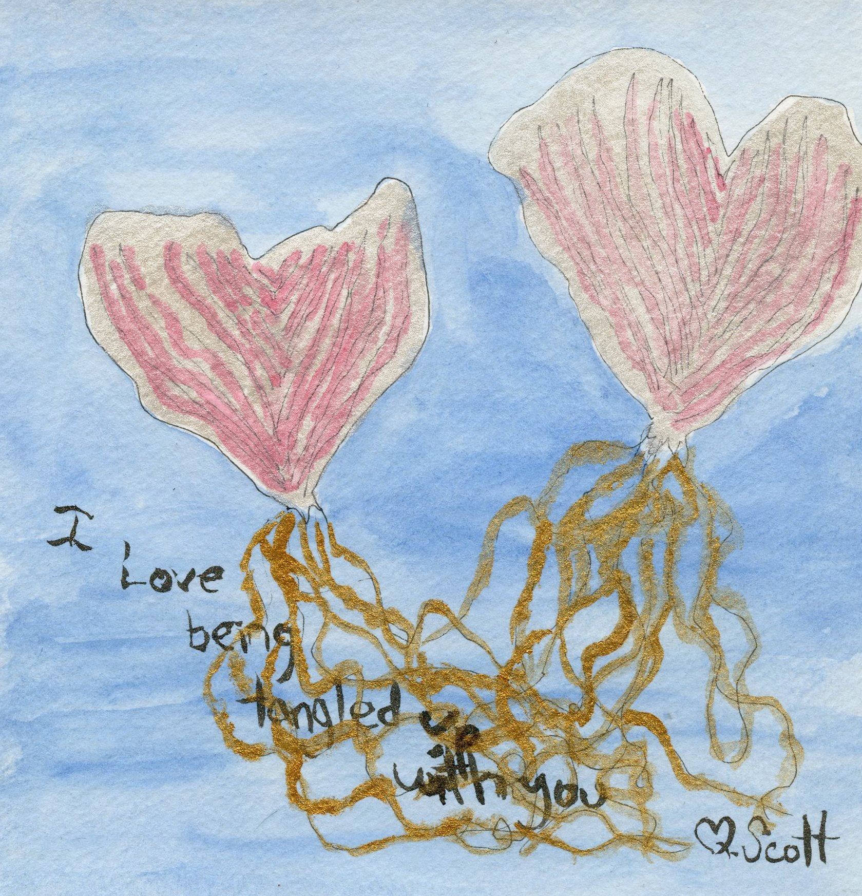 love, tangled