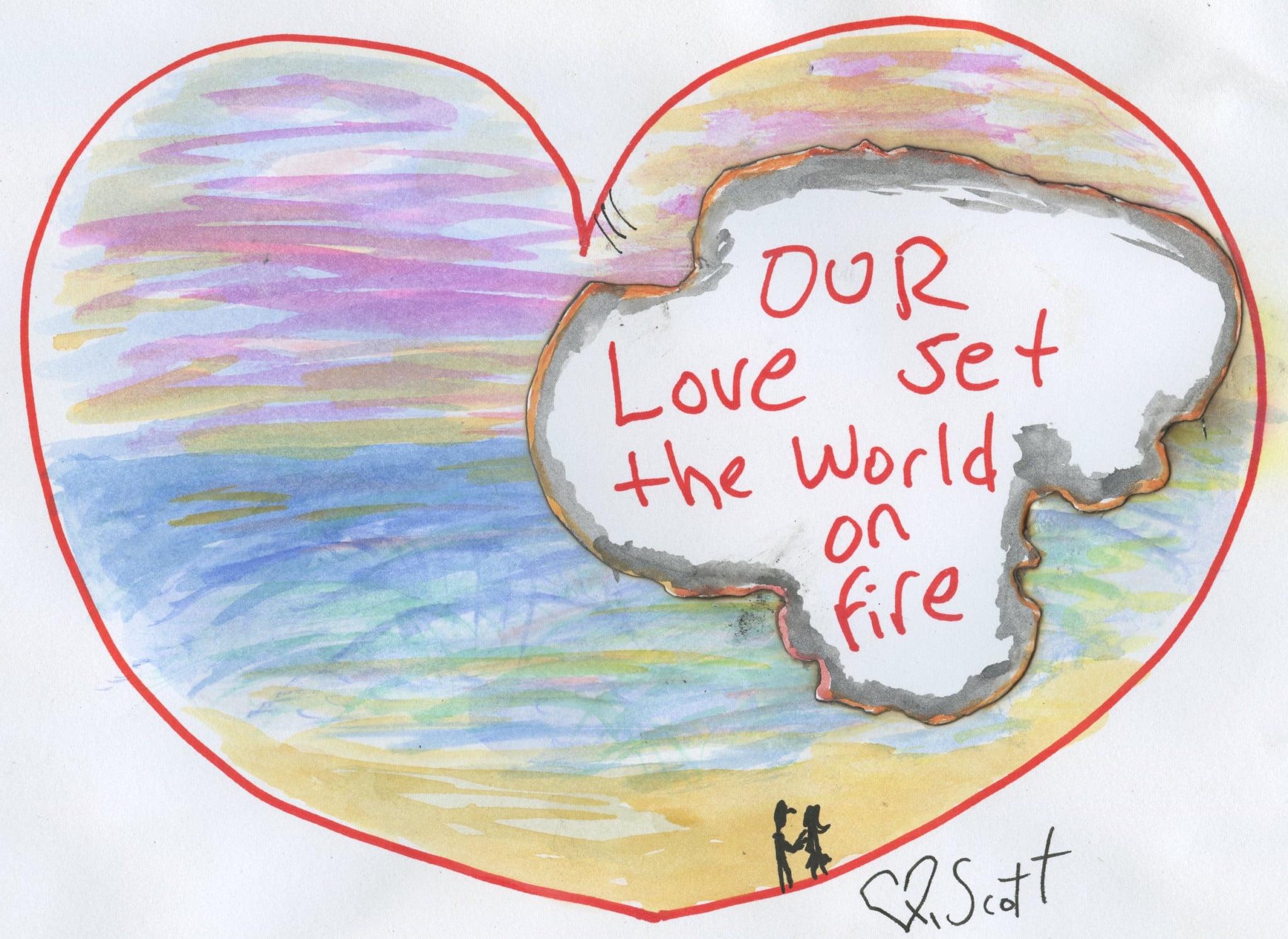 love, heart, kindness