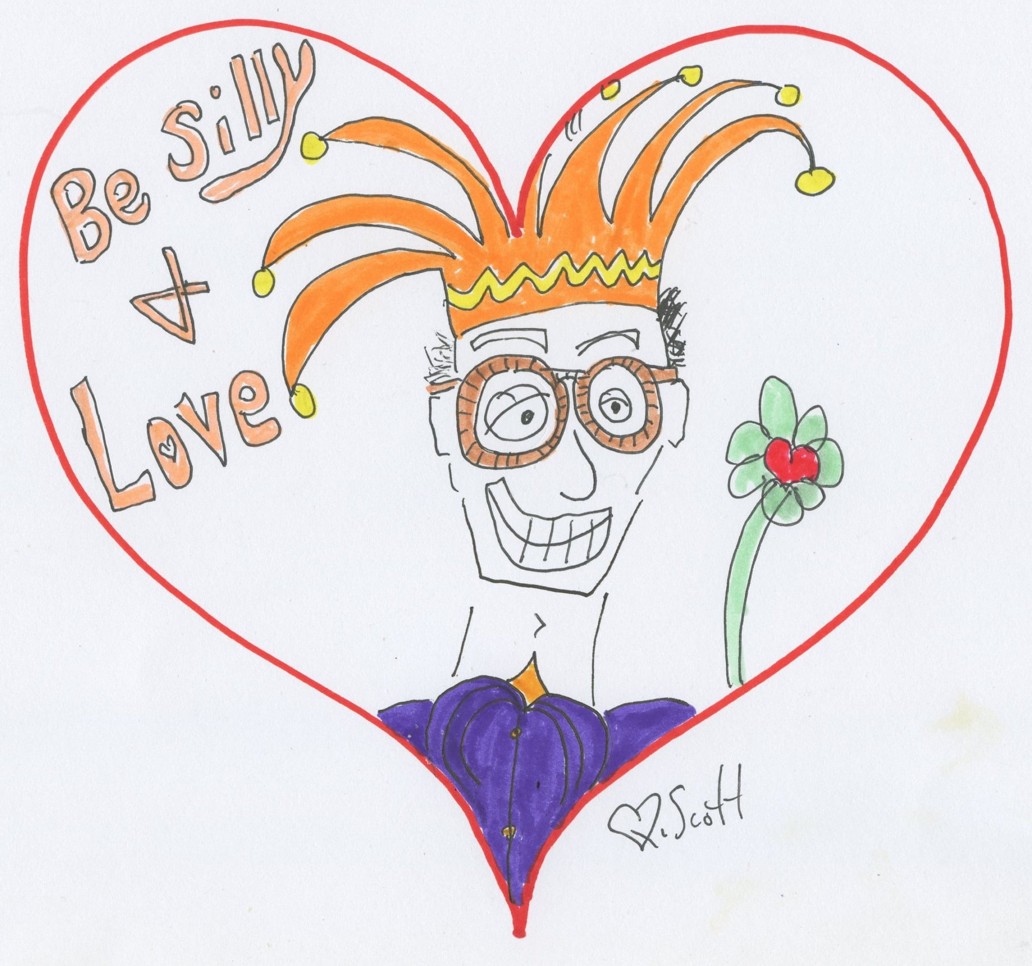 love, silly, heart