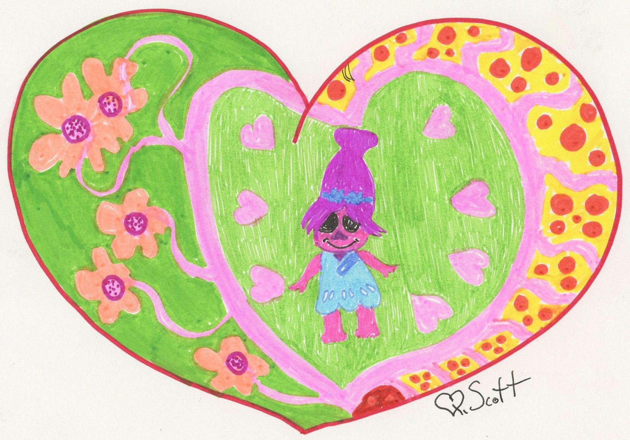 Heart, show love, love