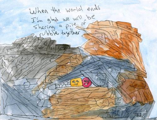 Sharing rubble